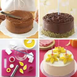 easy cake decoration at home birthday cake decorating ideas taste of home