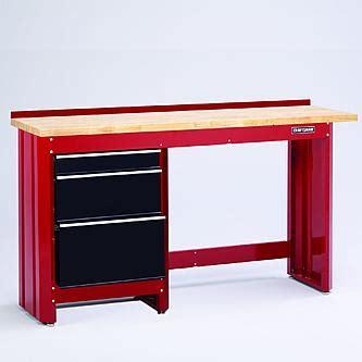 Craftsman Workbench With Drawers by Craftsman 3 Drawer Workbench Module Black