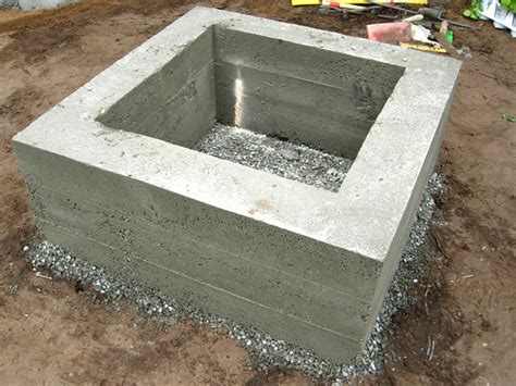 how to build a pit on a concrete patio how to make a concrete feature how tos diy