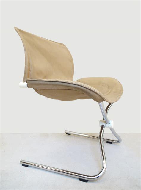 swivel folding chair folding rocking swivel chair leather 171 faltschwinger 187 by