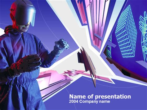 powerpoint templates for virtual reality virtual reality free presentation template for powerpoint
