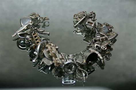 charm bracelet vintage sterling charm bracelet by classicstyle