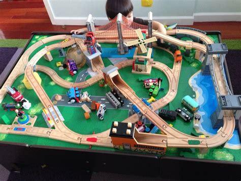 images  wooden railways trains  pinterest