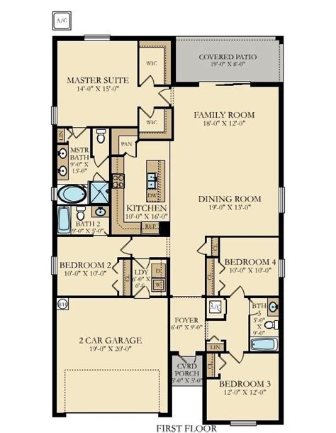 the floor plan for the evolution model home by palm harbor lennar homes floor plans tucson