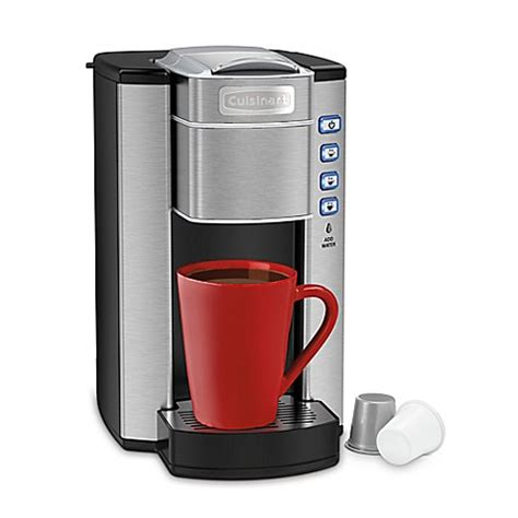 cuisinart coffee maker bed bath and beyond cuisinart 174 compact single serve coffee maker bed bath