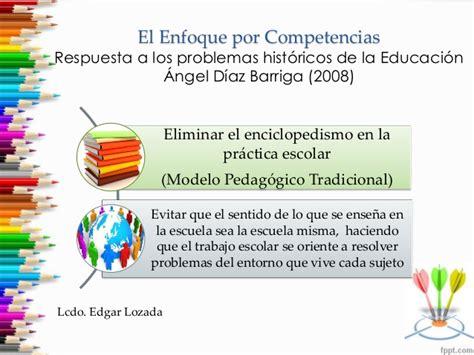 Diseño Curricular Por Competencias Diaz Barriga El Enfoque Por Competencias An 225 Lisis De Sus Supuestos Te 243 Ricos