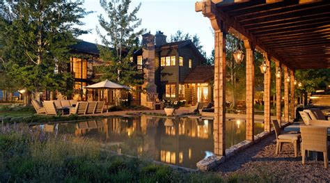 Luxury Homes For Sale In Aspen Colorado Colorado Style Luxury Home In Woody Creek Colorado For Sale Verzun