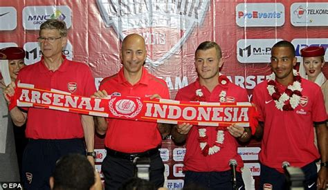 arsenal indonesia fb arsenal will suffer in indonesia says arsene wenger