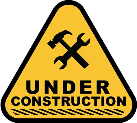 free printable under construction signs under construction 183 free image on pixabay