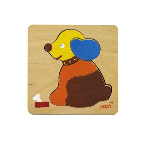 Mainan Edukatif Jigsaw Puzzle Kayu Kecil Anak Anjing La 716 padi toys puzzle 4 pcs riang toys mainan anak mainan bayi mainan puzzle mainan kayu