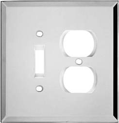 glass mirror light switch plates outlet covers
