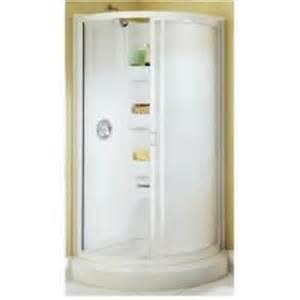 american shower amp bath 193705 round corner shower kit 34 single threshold shower basic install american bath