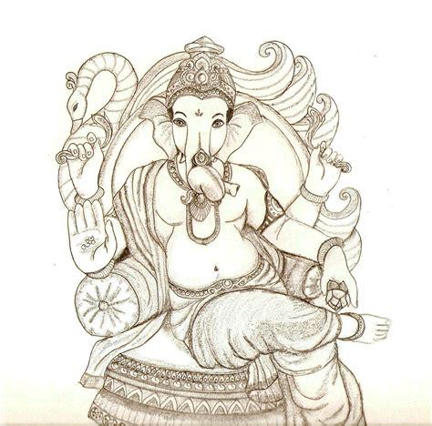 Home Ganpati Decoration Ganesh Chaturthi Ganesh Artwork Drawings