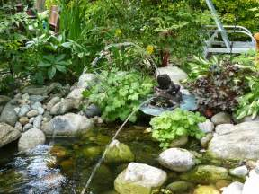 Small Garden Pond Ideas Small Backyard Garden House Design With Ponds And Low Waterfall With Various Plants Ideas