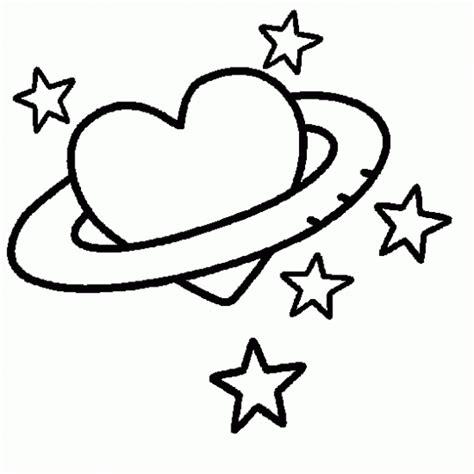 imagenes de amor animadas para pintar dibujo de coraz 243 n y estrellas