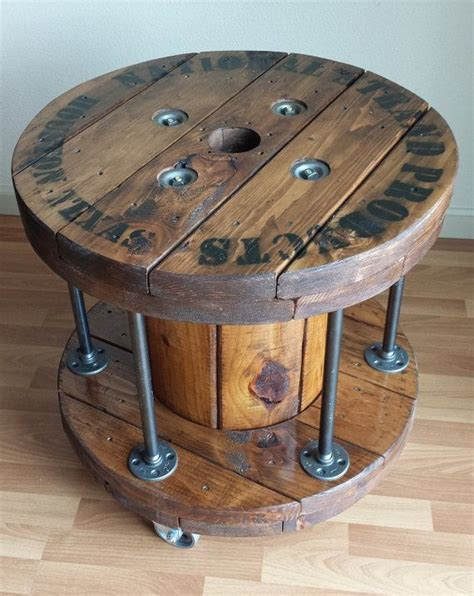 cable spool coffee table best 20 cable reel table ideas on wooden