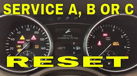 service manual how to change a 2011 mercedes how to reset service on mercedes ml gl 2007 2008 2009 2010 2011 2012 youtube