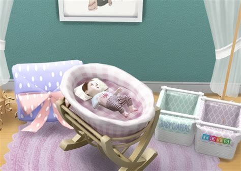 sims 4 cc baby funtioneri crib 187 sims 4 updates 187 best ts4 cc downloads