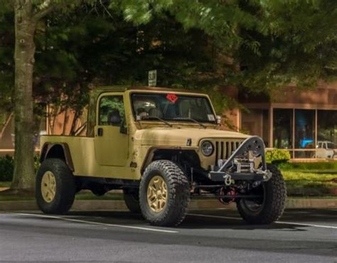 Truck Vs Jeep Find Used Tj 8 Jeep Wrangler Truck With V8 In
