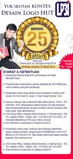 25 Tahun Indonesia Pbb design logo contest diadakan dalam rangkan menuju 25 tahun lp3i untuk indonesia lomba lomba