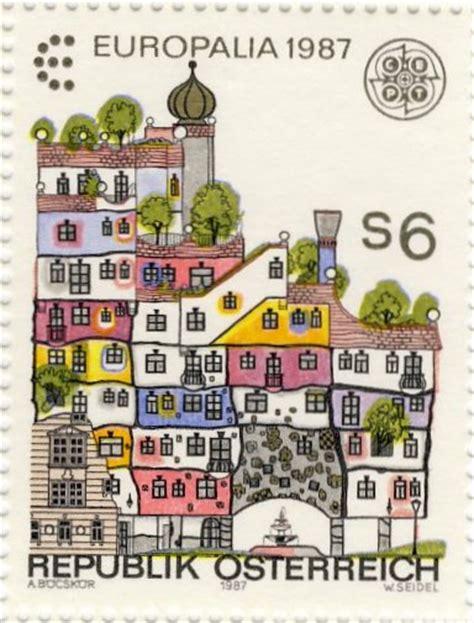 House Building Designs hundertwasser stamp resource collection