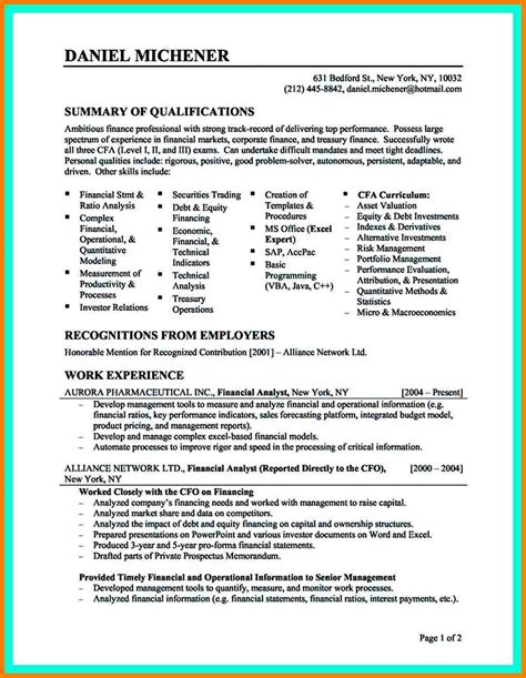 sle data analyst resume sle resume data analyst 28 images business analyst sle