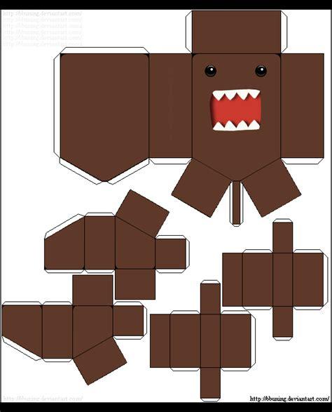 Domo Papercraft - domo kun paper by bbuning on deviantart