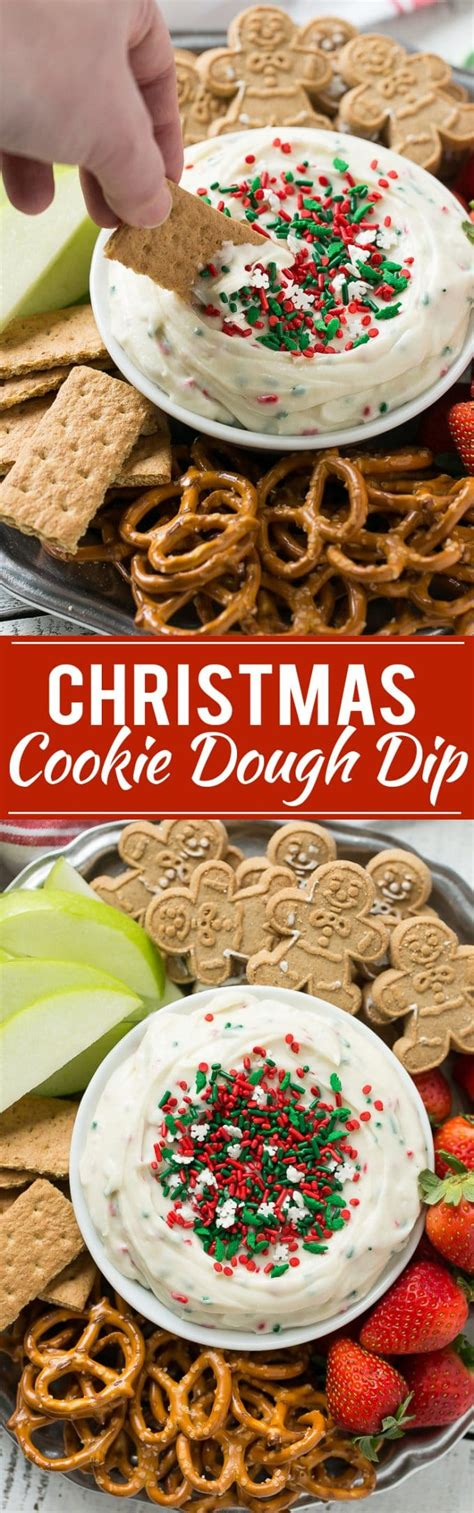 christmas dough recipe cookie dough dip dinner at the zoo