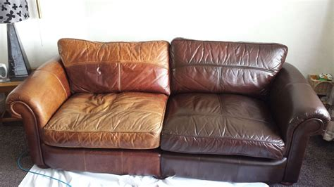 cracked leather sofa repair leather furniture repair restoration services cfs