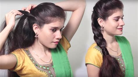 party hairstyle   minute indian