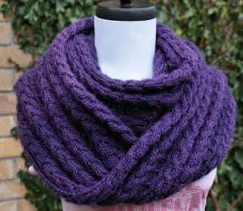 Knitted Infinity Scarf Pattern You To See Shelter Infinity Scarf On Craftsy