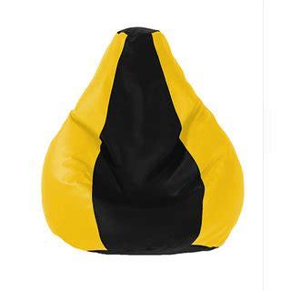 bean bag size comparison uk bean bags classic bean bag cover yellow black size l