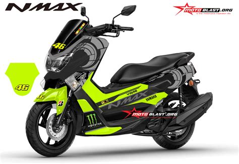 Modifikasi Jupiter Mx Dengan Batok Jupiter Z by Modifikasi Striping Yamaha Nmax Black Sun Moon Vr46 Winter