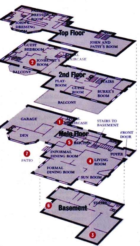 jonbenet ramsey house floor plan ramsey case