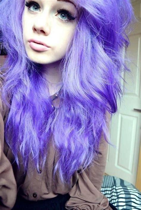 girl hairstyles purple the gallery for gt cute girls with purple hair