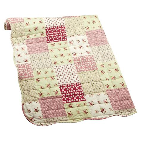 Patchwork Bedspreads Uk - iliv pastiche chintz ditsy floral patchwork reversible