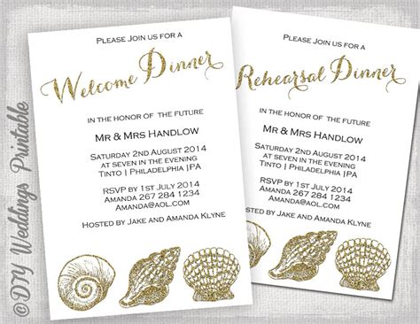 Rehearsal Dinner Invitation Template Welcome Dinner Invite Welcome Invitation Template