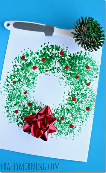 oh so clever christmas wreath painting this is such a