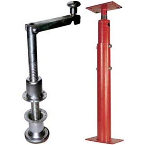 basement jacks dock truck equipment trailer stabilizers jacks
