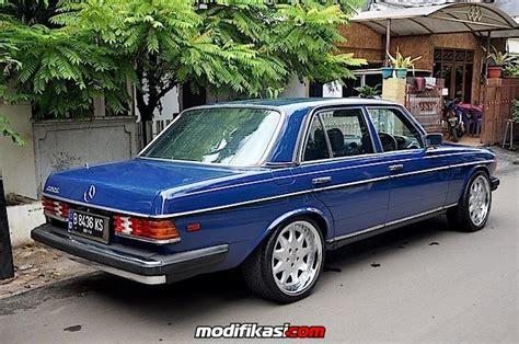 Harga Make No 19 w123 280e 84 mt usa style blue w brabus 19