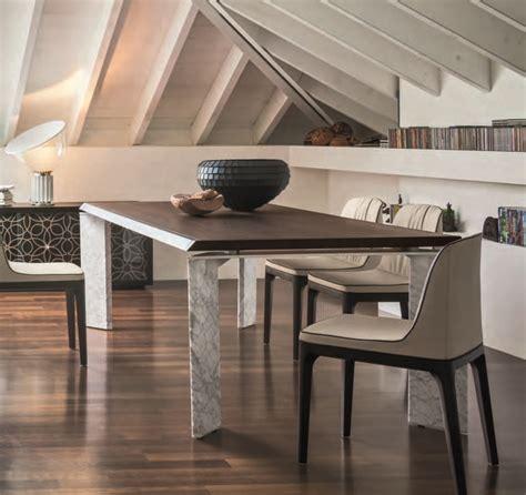 tavolo roma tavolo roma della tonin casa versione marmo e legno