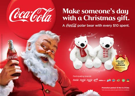 Coca Cola Giveaways - coca cola polar bear plushie giveaway with every 10 spent participating