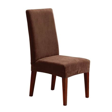 target slipcovers for chairs stretch pique short dining chair slipcover sure fit target