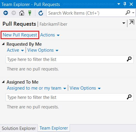 git tutorial pull request create a pull request microsoft docs