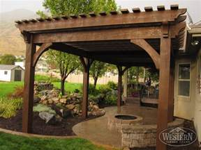 Pergola With Fire Pit by 17 Early American Outdoor Shade Structures Pergolas
