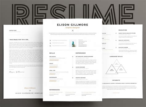 Eye Catching Resumes by 15 Eye Catching Resume Templates That Will Get You Noticed