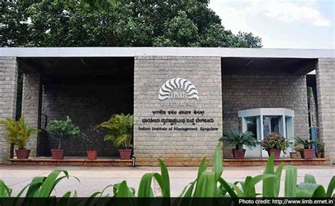Cost Of Executive Mba In Iim Bangalore by The Iim Bangalore Cus Is A Great Place To Spend Two
