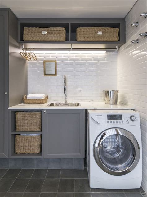 25 best ideas about grey laundry rooms on