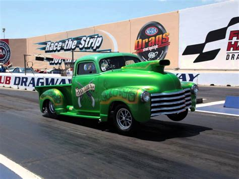 trucks drag racing 49 chevy truck quot say when quot drag racing