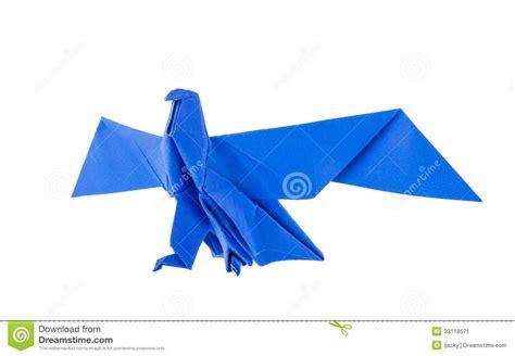 Origami Eagle - origami eagle stock image image 33118571
